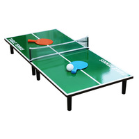 Indoor mini table tennis table game Folding table tennis table Parent child desktop entertainment athletic ping pong game