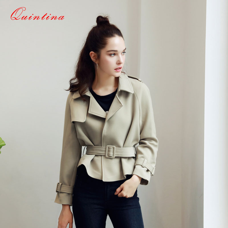 Quintina 2016 New Fashion Bomber Jacket Long Sleeve Plus Size Autumn Female Basic Jacket Women Jacket