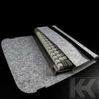 Sac de clavier mécanique Filco minila gh60 poker housse de poussière ducky 87 keycool 87 tkl sac de taille de clavier