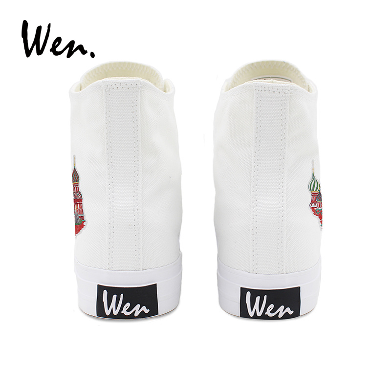 Branco Plano Vulcanizados São Top Mulher Up Colorido Lona Lace De Wen Alta Sapatas Design Rússia Basílio Sneakers Calçados Casual Catedral Sapatos Homem YqR5xFP