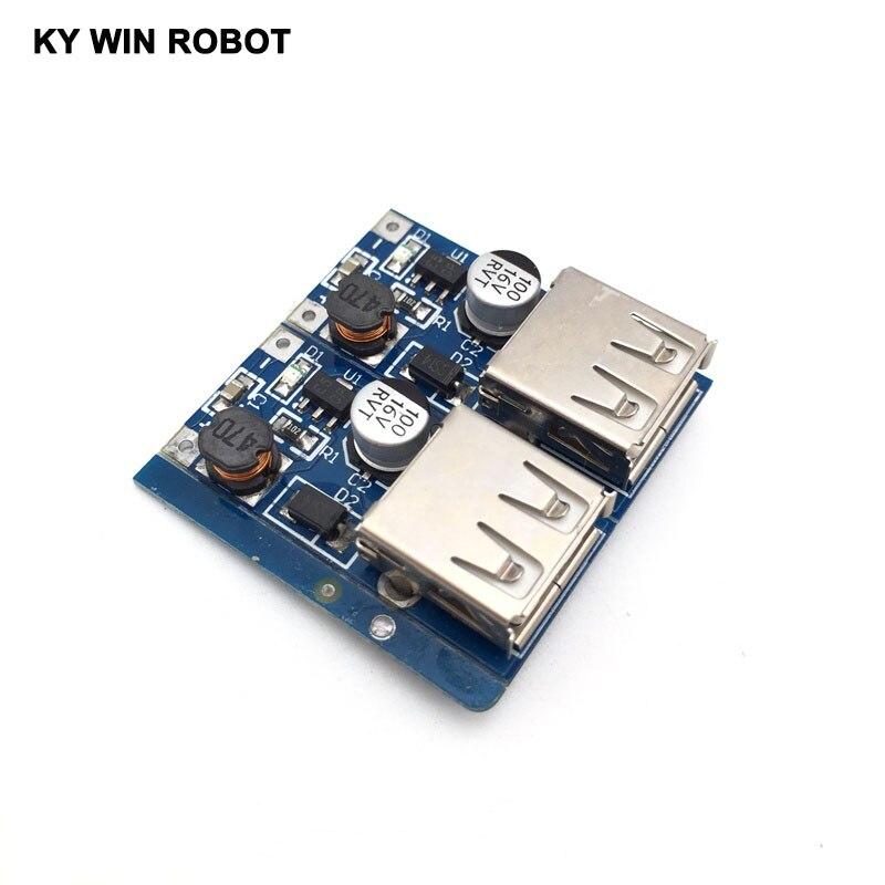 5 sztuk DC-DC konwerter Step Up moduł boost 0.9-5V T0 5V 600MA USB ładowarka do MP3 MP4 Camera