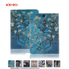 T550 T555 T551 Leather Case Cover For Samsung Galaxy Tab A 9.7 inch T550 T555 T551 tablet Accessories with card slots KF433D
