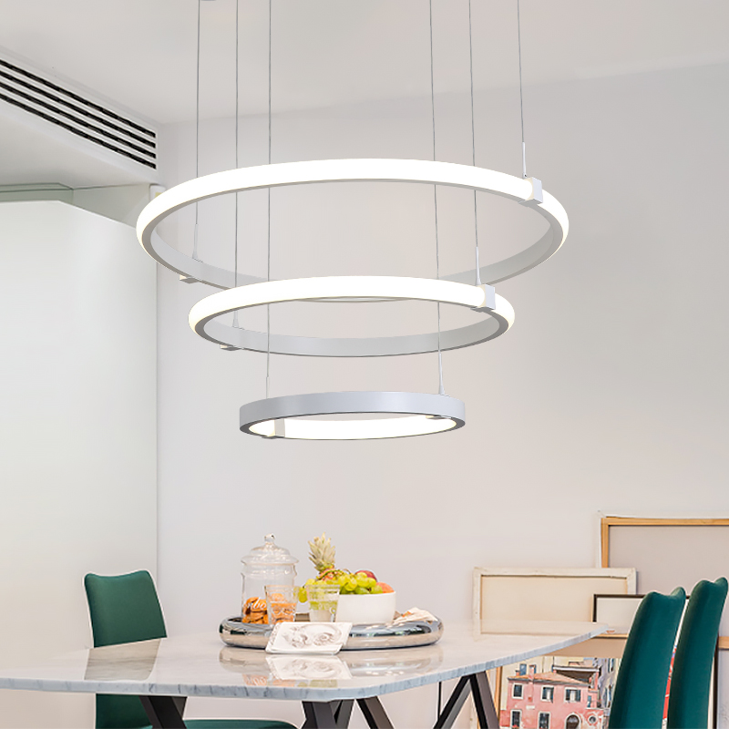 DX Nordic Led Ceiling Light Luminaire For Living Room Postmodern Simplicity Remote Control Lamp Art Ring Fixture Dimmable LustreDX Nordic Led Ceiling Light Luminaire For Living Room Postmodern Simplicity Remote Control Lamp Art Ring Fixture Dimmable Lustre