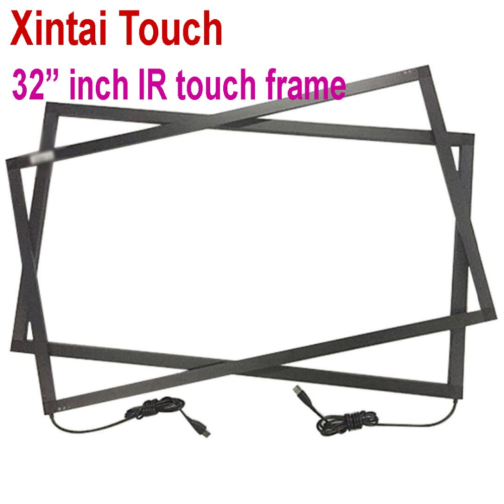 Real 10 points 32 inch Infrared Multi IR touch frame panel kit without glass, plug and palyReal 10 points 32 inch Infrared Multi IR touch frame panel kit without glass, plug and paly