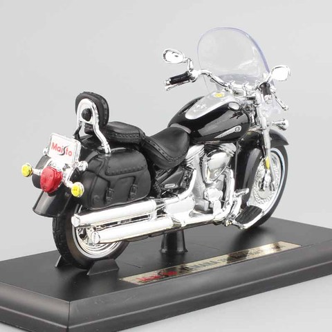 1/18 scale child mini metal diecast YAMAHA 2001 Road Star Silverado touring cruiser motorcycle models collection Toys for kids Islamabad