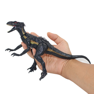 "Image 5 - 15 ס""מ indoraptor פרק יורה העולם 2 דינוזאורים משותף מטלטלין פעולה איור צעצועים קלאסיים ילד ילדי חג המולד מתנה"