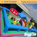 Comemrcial Biggors inflable casa de Brinco Inflables Funcity Niños Castillo Hinchable Combo