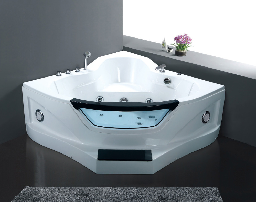 Two person acrylic massage hot tub,whirlpool spa,with jacuzzi ...