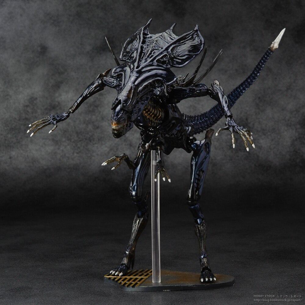 SCI FIRECOLTECK Aliens Series No.018 Alien Queen Xenomorph Warrior PVC Action Figure Collectible Model Toy Doll 32cm KT464