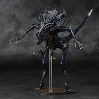 SCI FIRECOLTECK Aliens Series No.018 Alien Queen Xenomorph Warrior PVC Action Figure Collectible Model Toy Doll 32cm KT464