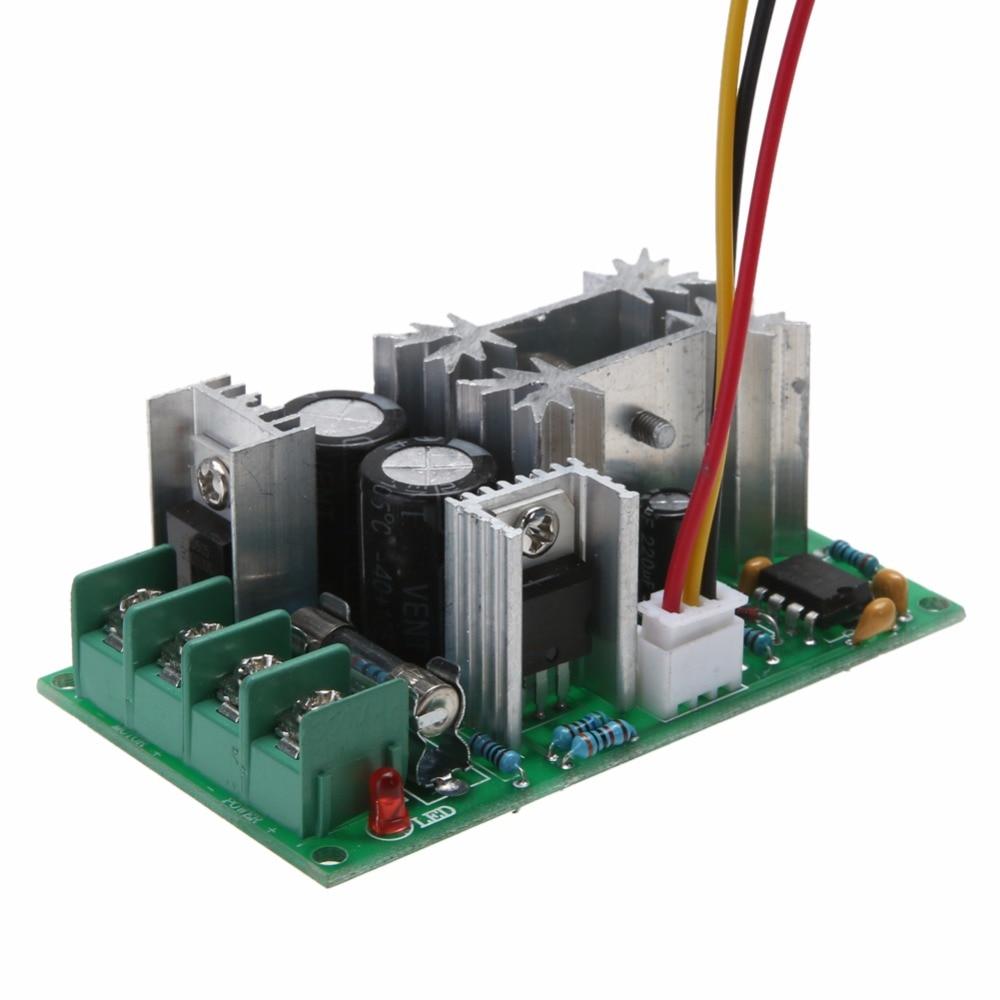 1PCS 12V/24V/36V/48V/60V 1200W 20A PWM FAN Controller DC Motor Speed ...