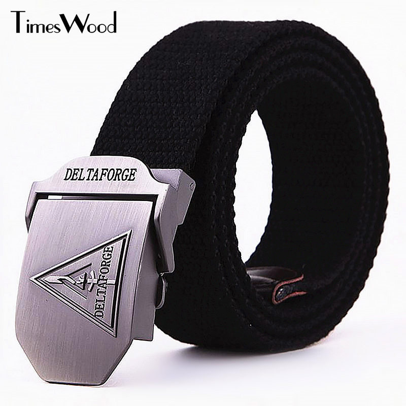 The Cheapest Price Delta Force Canvas Belt Military Thick Casual Mens Belt Army Belts Man Women Cinture Black Army Green Desert Etc Apparel Accessories