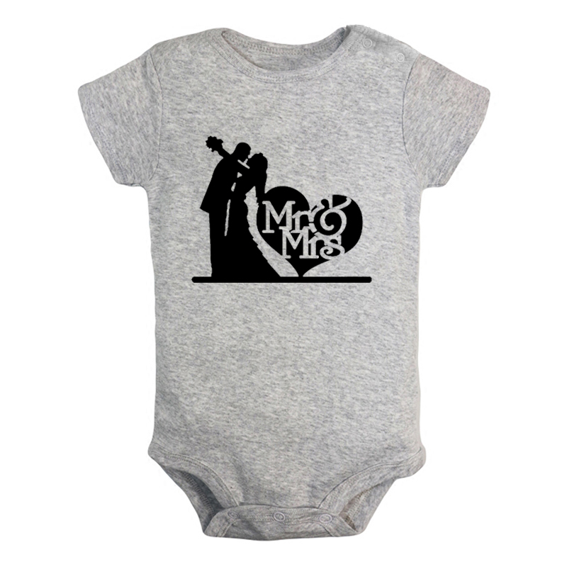 Infant Baby Girls Cotton Long Sleeve Vintage Style Merman Silhouette Jumpsuit Romper Funny Printed Romper Clothes
