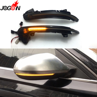 For Audi A6 C7 C7.5 RS6 S6 4G 2012 2017 2018 Car Side Wing Rearview Mirror Blinker Indicator LED Dynamic Turn Signal Light