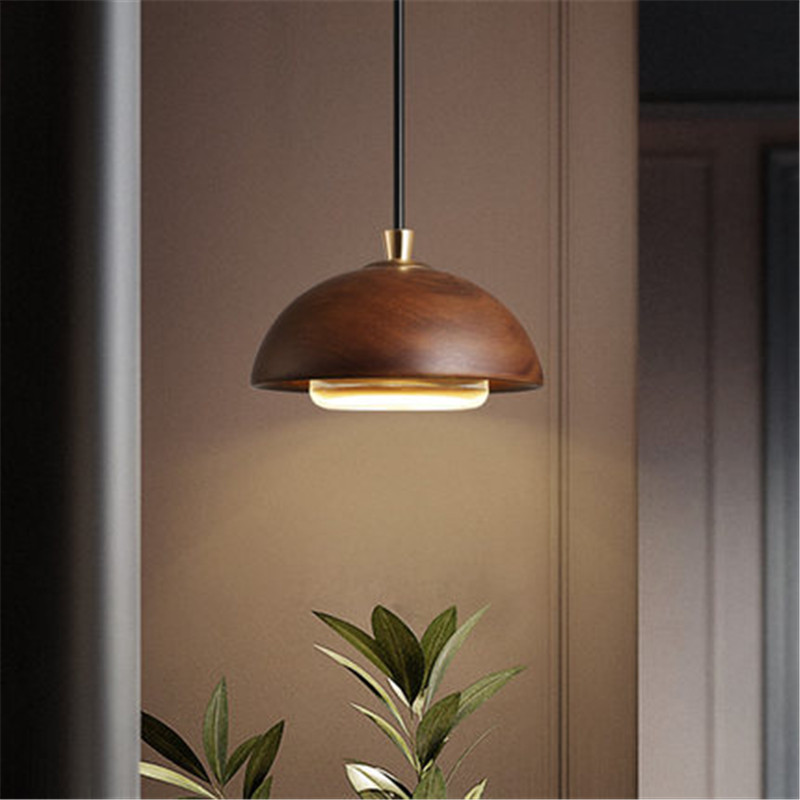 E27 American Loft Wood Art Retro Droplight Industrial Vintage Pendant Light Fixtures For Living Dining Room Bar Hanging Lamp simple bar restaurant droplight loft retro pendant lamp industrial wind vintage iron hanging lamps for dining room