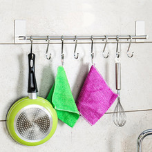 2 Pcs Stainless Steel S Hooks Hanging Clothes Umbrella Kitchen Sundries Hanger WXV Sale