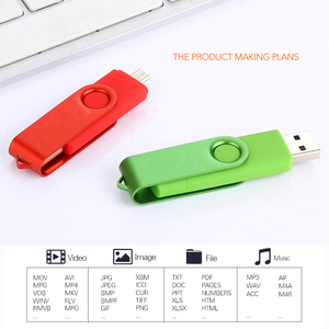 Image 4 - 2 IN 1 Flash Disk 64GB Pen Drive 8GB 4GB 16GB 32GB Pendrives OTG Memory Stick For Android Phone Notebook Laptop PC Dropshipping