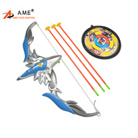 Archery Children Bow And Arrow Set ABS Plastic Safety Sucker Arrows Recurve Children Bows For Outdoor Sports Kid Toy Accessories
