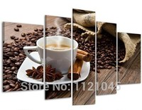 Coffee Cup 5pcs Sets For Crafts Diy Diamonds Embroidery Painting Rhinestones Pasted Pictures Mosaic 5d Square
