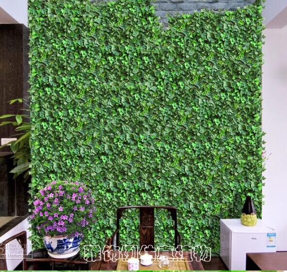 Us 27 55 5 Off Hot Ing Simulation Ivy Climbing Vines Green Leaf Artificial Silk Virginia Creeper Wall Decoration Home Decor 24pcs Lot In