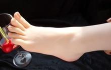 Новый 3D девушки на высоких каблуках балерина ноги ноги фетиш модель скульптуры footjobs игрушки загорелой кожи
