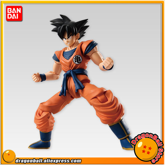 Japan Anime Dragon Ball Z Original BANDAI Tamashii Nations SHODO SHOKUGAN Vol.4 Action Figure - Son Goku (9cm tall) dmz vol 12 five nations ny