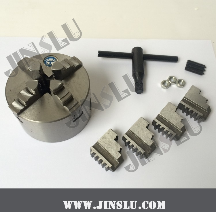 Free Shhipping 4 Jaw Self-centering Chuck K12-80 3