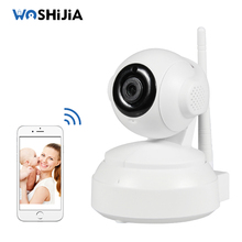 Newest Wireless Wifi Baby Monitor with 720P HD Video IP Camera Motion Detection Alarm Night Vision 2 Way talk Intercom Camera