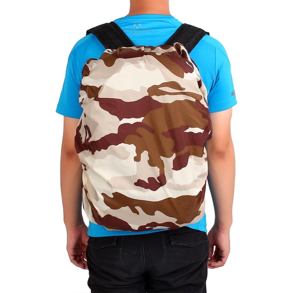 W 1Pc 30L 40L Camouflage Waterproof Dust Rain Cover Travel Hike Backpack Camping Rucksack Bag Rain