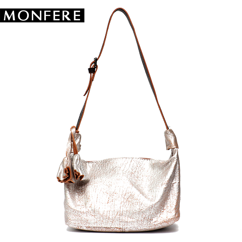 MONFERE New Arrival 2018 Genuine Leather Bags Women Small shoulder Bag Contrast Color Handle Vintage Handbag Mini Crossbody bags bfdadi 2018 new arrival hat genuine