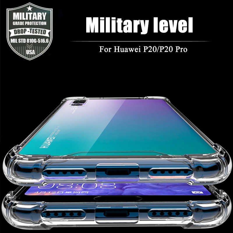 Silicone Case For Huawei P20 Lite Clear Soft TPU Cover for Honor 10 9 8 Lite Coque For Huawei P30 Lite P20 P30 Pro P10 Plus Capa
