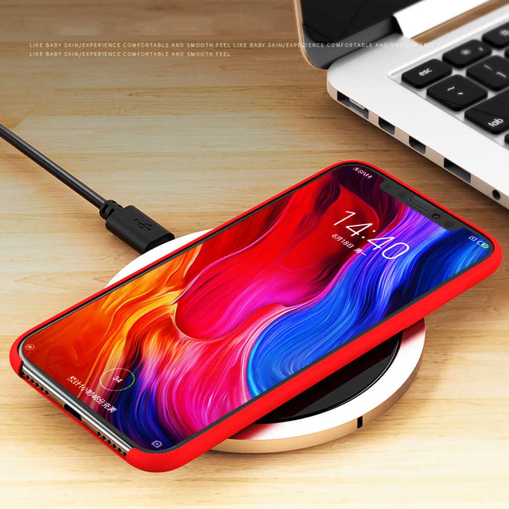 Para Xiao mi mi Max 3 plus soft case silicon capa para Xiao mi mi mi 8 SE Explorar voltar telefone 6X x2s 6 mi mi mi mi x 2s A2 6X Max3 caso