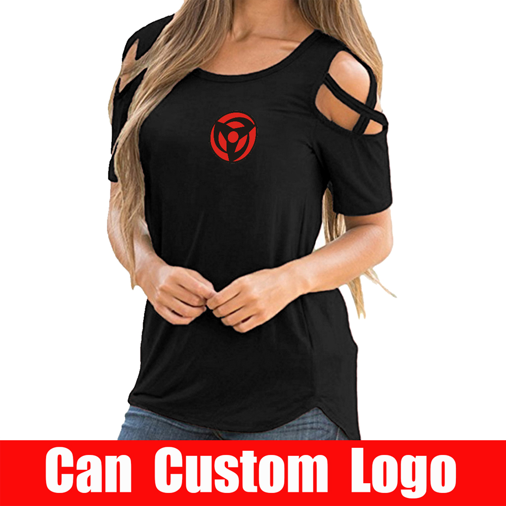 2019 Naruto tshirt <font><b>women</b></font> Hip-hop <font><b>off</b></font>-<font><b>shoulder</b></font> <font><b>sexy</b></font> Summer <font><b>Short</b></font> <font><b>Sleeve</b></font> <font><b>sexy</b></font> <font><b>women</b></font> Naruto Streetwear <font><b>fashion</b></font> Korean wear image