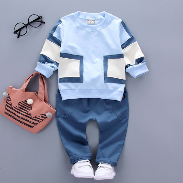 ce5b7e26f860 New Spring fashion Kids Boys and Girls clothing sets children ...