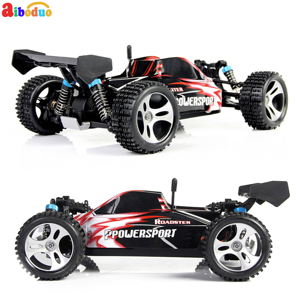 A959 Electric Nitro RC Car 1/18 2.4GHz Remote Control 4x4 High Speed Off-Road Racing Car Monster for ChildrenA959 Electric Nitro RC Car 1/18 2.4GHz Remote Control 4x4 High Speed Off-Road Racing Car Monster for Children