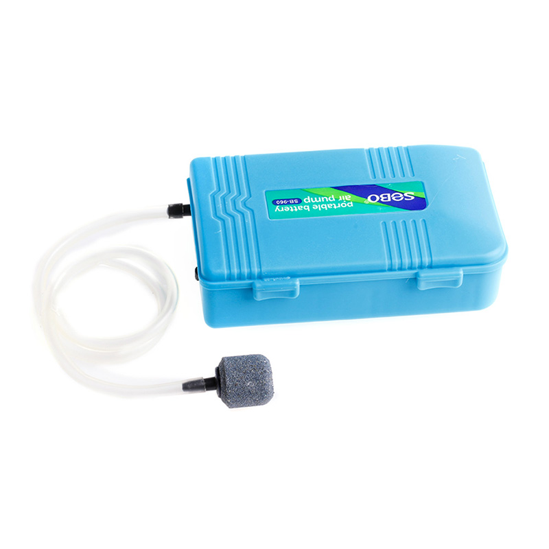 New aquarium battery operated fish tank air pump w air for Battery operated fish