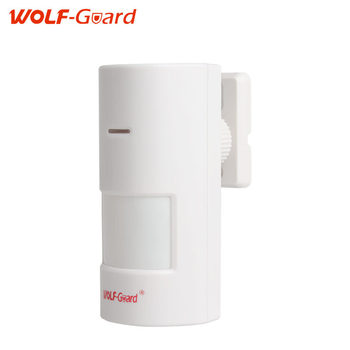 Wolf guard smart 433mhz wireless pir motion sensor wide angal indoor alarm detector for home security.jpg 350x350
