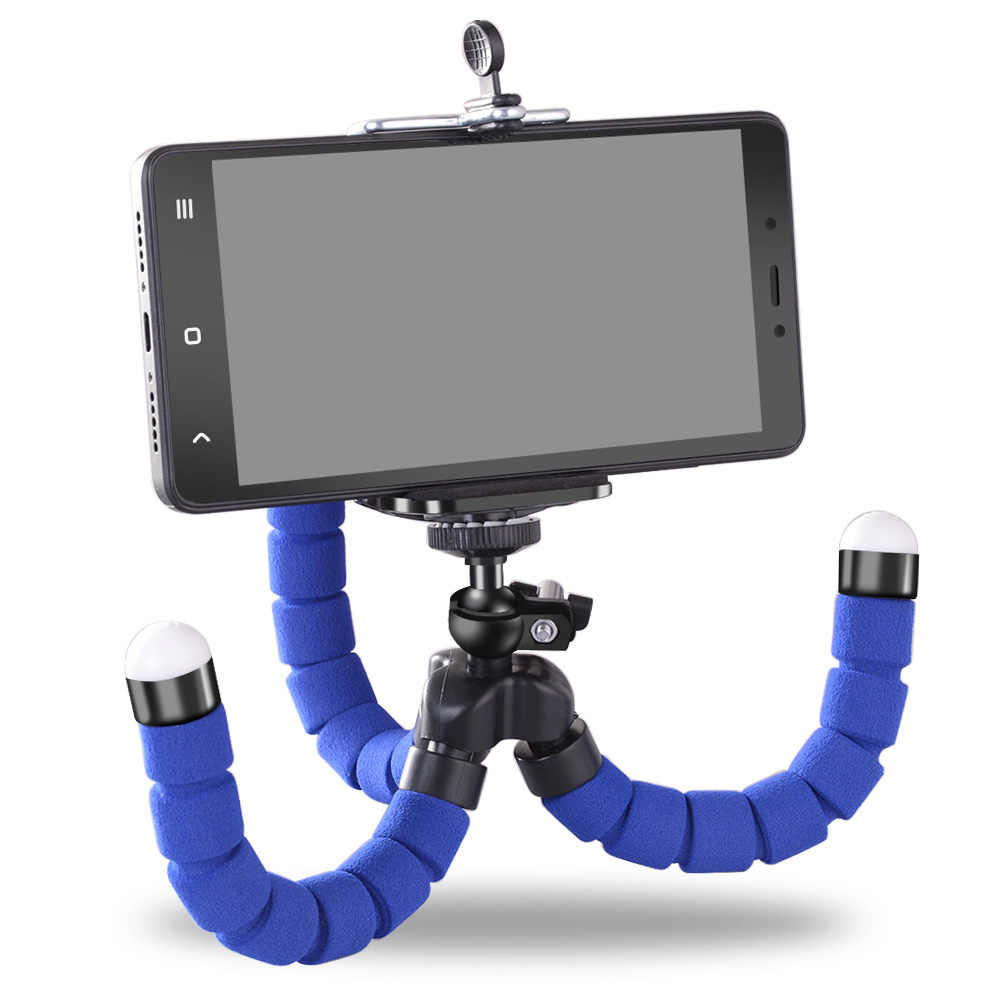 For Mobile Phone Camera Flexible Octopus Tripod Bracket Mount Monopod Styling Accessories Phone Holder Selfie Expanding Stand
