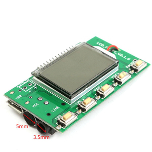 Image 3 - 1 PC DSP PLL 87 108MHz FM RadioTransmitter/Receiver Digital Module Wireless Stereo Microphone Noise Reduction Multi function New
