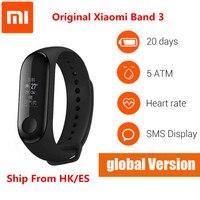 Xiaomi Mi band 3 Global Version Fitness Bracelet Smart Wristband Watch tracker OLED Touchpad Sleep Monitor Heart Rate Mi Band 3