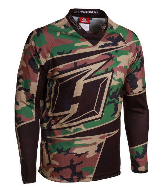 New 2019 Moto Racing Jersey long sleeve BMX DH motocross jersey downhill jersey Off Road Mountain Bike mtb Jersey in Cycling Jerseys from Sports Entertainment