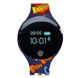 Беспроводные умные часы цифровой Smartwatch для мужчин группа женщин Детский Браслет спортивный браслет для IOS Android PK Xiaomi huawei W08