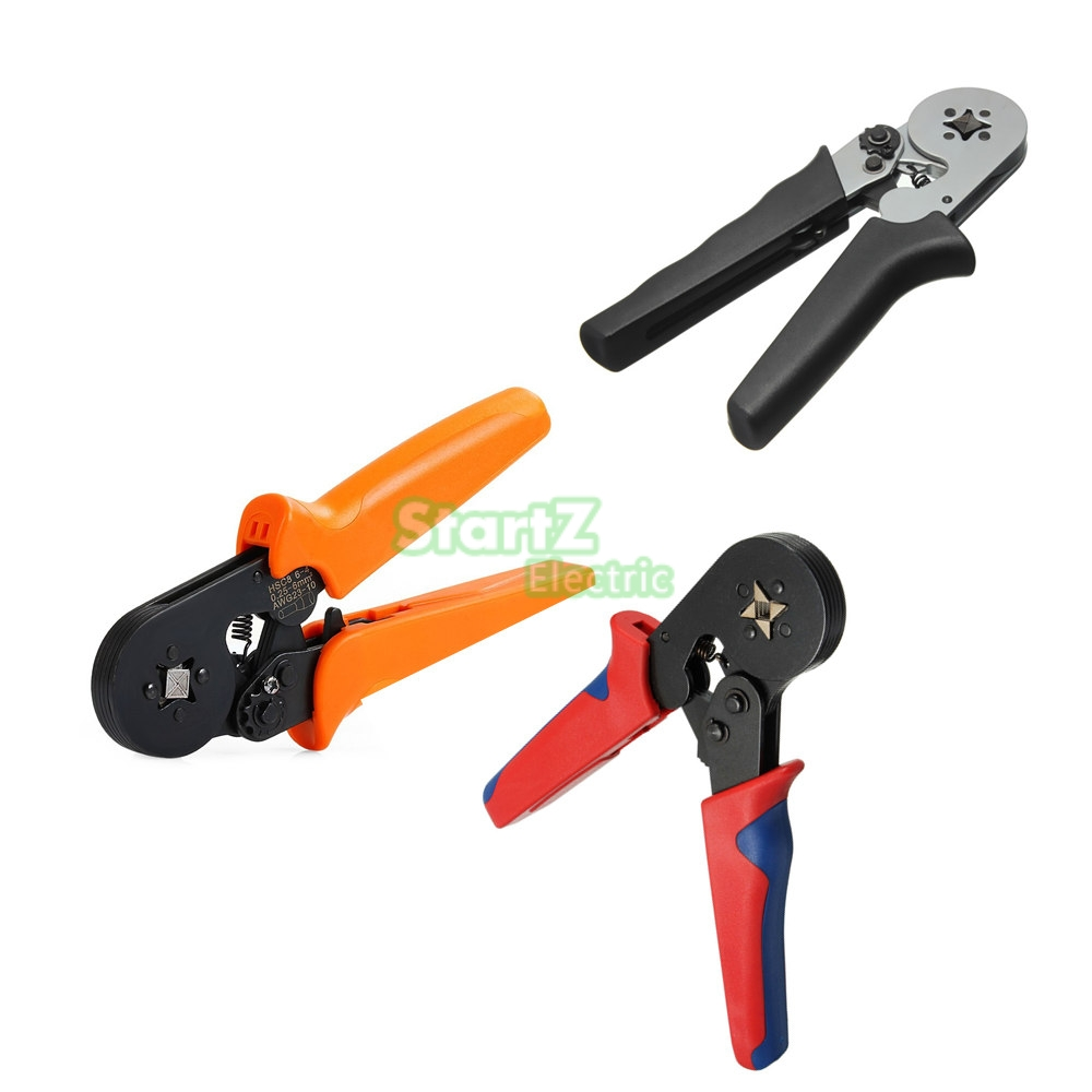 0.25-6mm2 Terminal Crimping Tool Bootlace Ferrule Crimper Cord Wire End Sleeves new 4 in 1 wire crimper tool wire crimper engineering ratchet crimping plier ferrule crimping multi tool cord end terminals t20