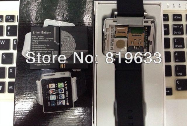 "5pcs/lot Free Shipping Watch Phone High Quality Original Battery For 1 Sim 1.8"" i3 Capacity 600mAh Watch Phone Original Battery"