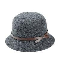 F271 South Korea Korean wool hat lady winter basin cap, fisherman hat fashion hat
