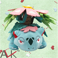 Pokemon Plush Toys 15cm Venusaur Euro-American Movie Plush Stuffed Toys Free Shipping