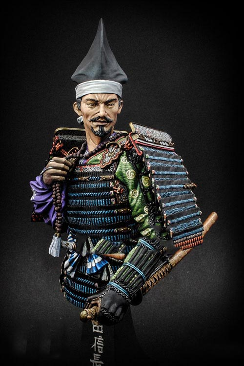 Assembly Unpainted Scale 1/10 Oda Nobunaga Lord of Owari 16th bust figure Historical WWII Resin Model assembly unpainted scale 1 10 man of the african legion soldier bust figure historical wwii resin model free shipping