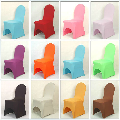 Folding Chair Covers For Wedding Used Banquet Tables And Chairs Wholesale 100pcs Lot Elastic Spandex Lycra Fabrics Party Polyester Decoration In Cover From Home Garden On