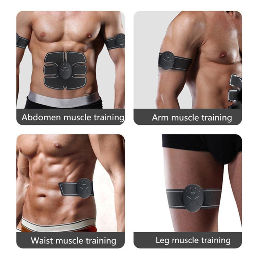Lovely Replacement Electrodes 1pc Abdomen Pad And 2pcs Arm Pads For Abs Fit Muscle Stimulator Massager Health Care Massage & Relaxation
