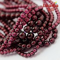 New Arrival Natural Garnet Round beads 3.8-5.4mm Round Stone Beads for bracelet DIY Jewelry Making